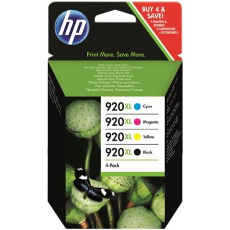 Tinta HP CD975AE HP920XL MultiPack Negra+Colores XL