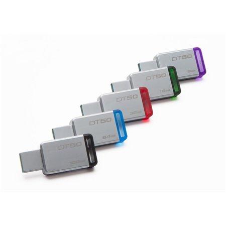 Pen Kingston 16Gb. USB 3.0 Metal (DT50/16GB)