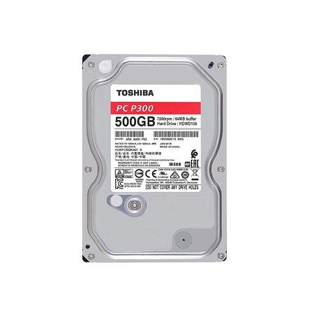 """Disco Duro Toshiba P300 500Gb 3.5"""" SATA 7200r (HDWD105)"""