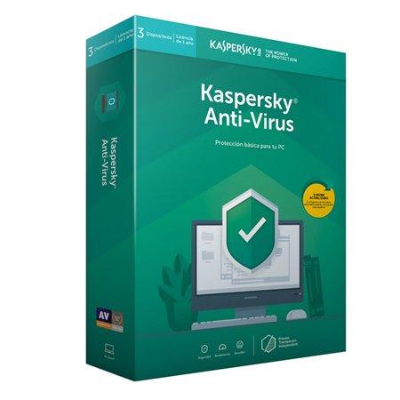 Kaspersky Antivirus 2019 3 Equipos Licencia Digital