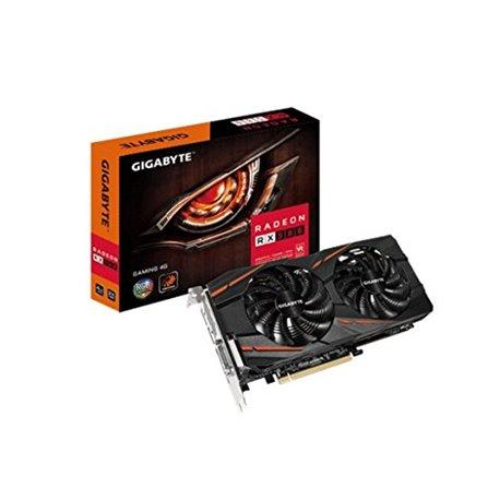GIGABYTE PCIe 3.0 AMD RX580 4Gb (GV-RX580GAMING-4GD)