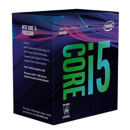 Intel Core i5-8600K LGA1151 3.6/4,3GHz 9Mb HD630