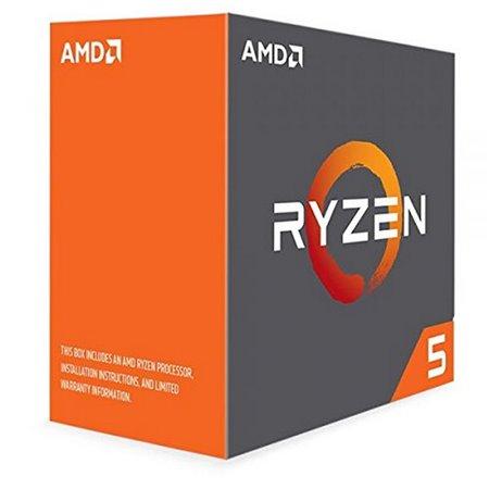 AMD Ryzen 5 1600X 3.6Ghz 19Mb AM4 Caja Sin Ventilador